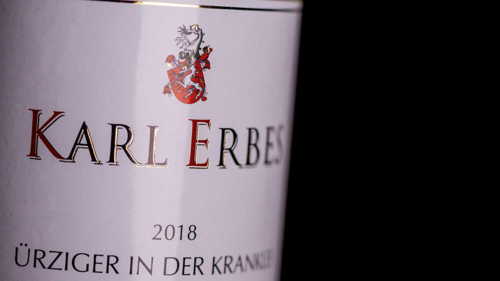 Weinflasche Weingut Karl Erbes