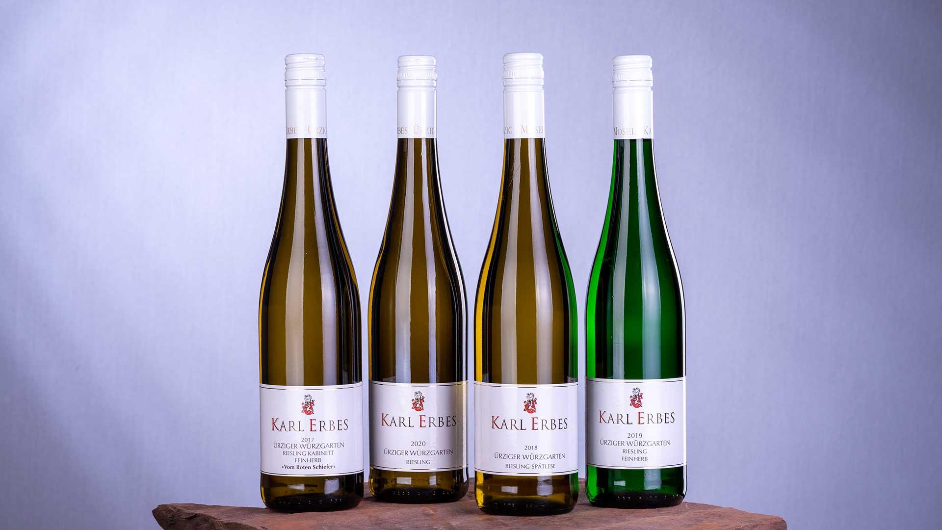 Weinflaschen Weingut Karl Erbes Ürzig