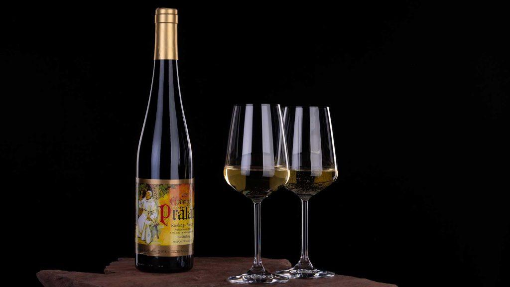 Weinflasche Karl Erbes Erdener Prälat 2020