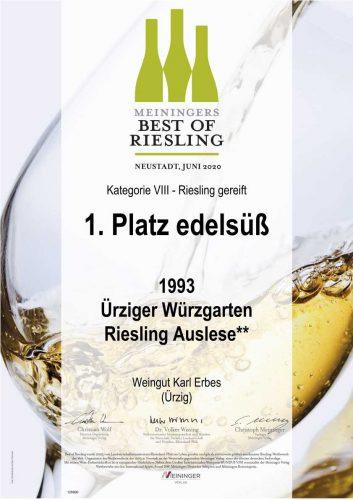 Urkunde_Best_of_Riesling_2020_93er_Auslese